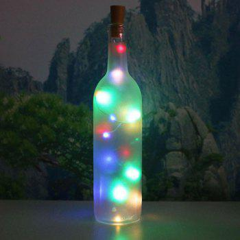Decorative 2PCS Bottle Stopper Colorful LED String Light - COLORFUL COLORFUL