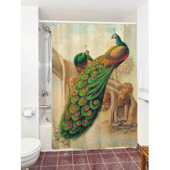 Peacock Bathroom Decoration Shower Curtain - COLORMIX COLORMIX