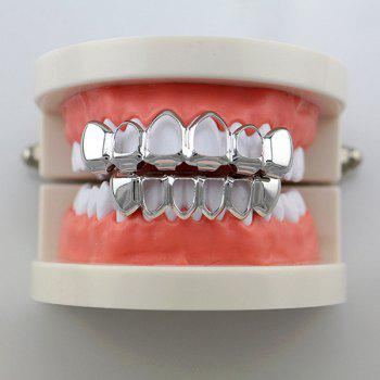 Ensemble Grillz Hip Hop Grillz - Argent