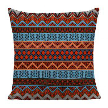 Bohemian Geometric Print Pillow Case - COLORFUL COLORFUL