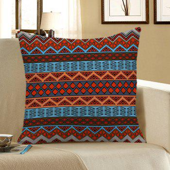 Bohemian Geometric Print Pillow Case - COLORFUL 45*45CM