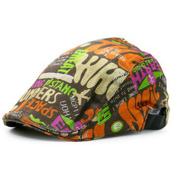 Graffiti Letters Embellished Flat Hat