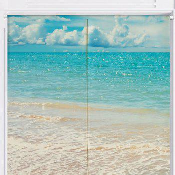 Beach Style Bathroom Practical Door Curtain - W33.5 INCH * L47 INCH W33.5 INCH * L47 INCH