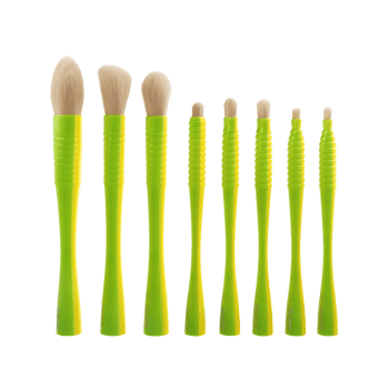 8Pcs Color Block Multifunctional Brushes Kit