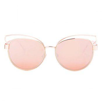 Cat Eye Street Snap Sunglasses and Box - PINK