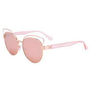 Cat Eye Street Snap Sunglasses and Box - PINK PINK
