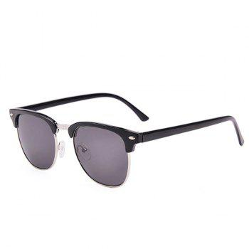 Street Snap Anti UV Sunglasses with Box - BLACK BLACK