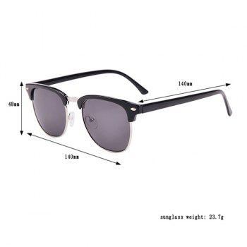 Street Snap Anti UV Sunglasses with Box -  BLACK