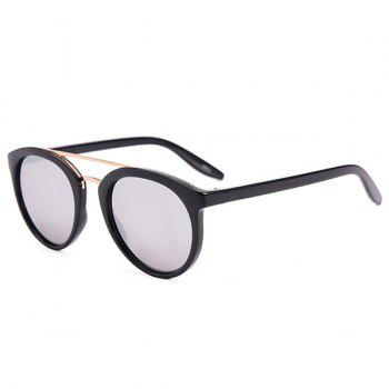 Oversized Anti UV Sunglasses with Box - BLACK BLACK