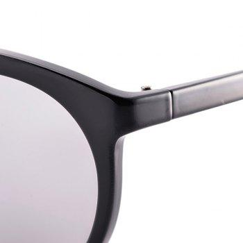 Oversized Anti UV Sunglasses with Box - BLACK