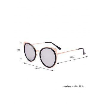 Cat Eye UV Protection Sunglasses and Box -  GRAY