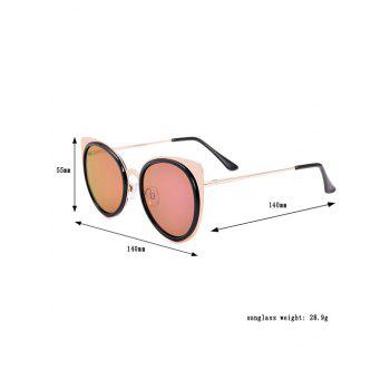 Cat Eye UV Protection Sunglasses and Box -  BLACK