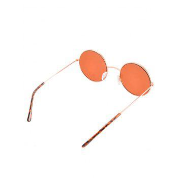Anti UV Round Sunglasses with Box -  PINK