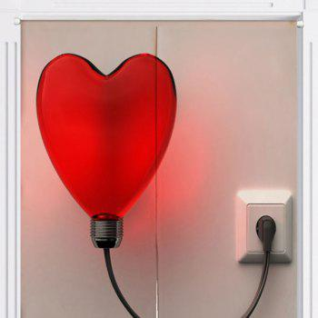 Heart Shape Balloon Light Printed Home Door Curtain - W33.5 INCH * L35.5 INCH W33.5 INCH * L35.5 INCH
