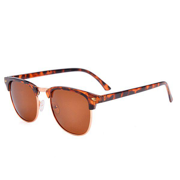 Street Snap Anti UV Sunglasses with Box - LEOPARD