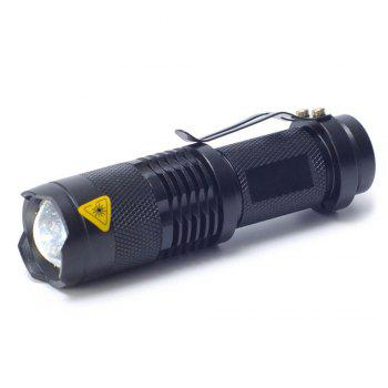 Outdoor Sport Hiking LED Headlamp Cycling Flashlight - BLACK