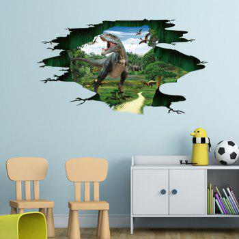 Jurassic Dinosaur 3D Wall Sticker For Kids