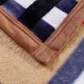 Plaid Soft Sofa Nap Urban Style Throw Blanket - CHECKED CHECKED