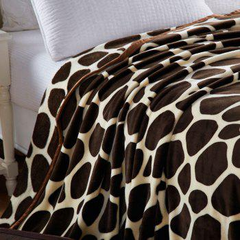 Europe Style Summer Giraffe Stripes Throw Blanket - GIRAFFE FULL