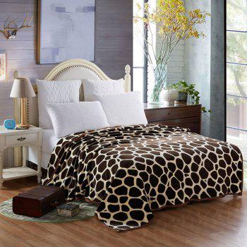 Europe Style Summer Giraffe Stripes Throw Blanket - GIRAFFE GIRAFFE