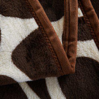 Europe Style Summer Giraffe Stripes Throw Blanket - QUEEN QUEEN