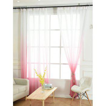 Ombre Sheer Tulle Curtain Decorative Window Screen - W54*L84INCH W54*L84INCH