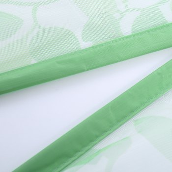 Self-Closing Anti Insects Mesh Door Screen Magnetic Curtain - GREEN GREEN