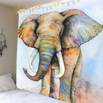 Elephant Print Wall Hanging Tapestry