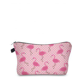 Animal Print Makeup Bag