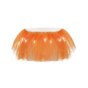 Tier Mesh Light Up Ballet Cosplay Skirt - ONE SIZE ONE SIZE