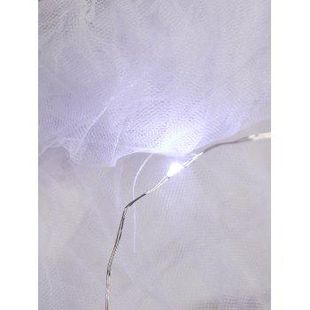 Tier Mesh Light Up Ballet Cosplay Jupe - Blanc ONE SIZE