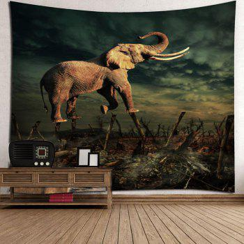 2017 Elephant Forest Home Decor Wall Tapestry Colorful W Inch L Inch In Wall Tapestries Online