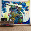 Elephant Floral Print Wall Tapestry - COLORFUL W59 INCH * L79 INCH