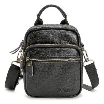 PU Leather Top Handle Crossbody Bag