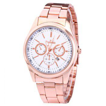 Alloy Strap Date Number Watch - ROSE GOLD ROSE GOLD