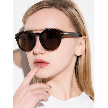 Chic Alloy Embellished Matte Black Sunglasses For Women
