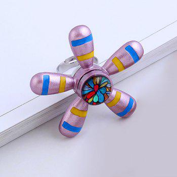 Star Flower Hand EDC Fidget Spinner Ring