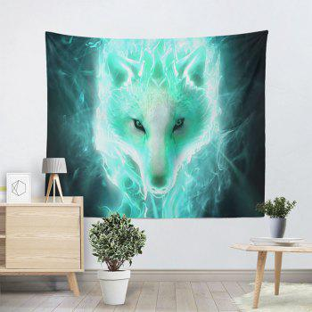 Home Wall Hanging Flash Wolf Print Tapestry - COLORMIX W59 INCH * L59 INCH