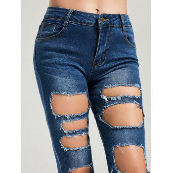 Cat's Whisker Ripped Jeans - M M