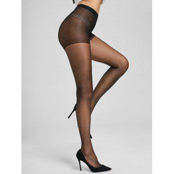 Slimming See Through Pantyhose - ONE SIZE ONE SIZE