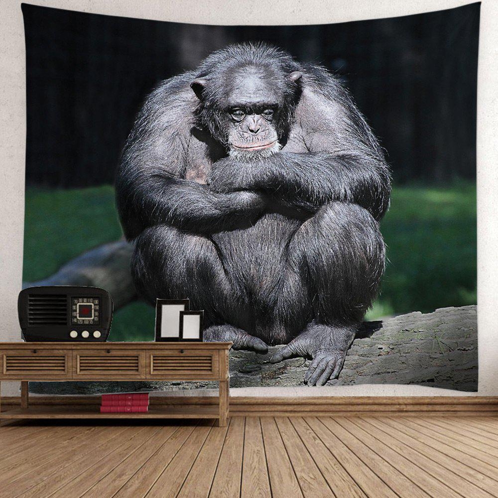 Chimpanzee Print Wall Art Tapestry ocean jellyfish print throw wall art tapestry