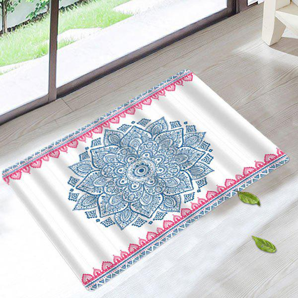 Mandala Anti Slip Home Floor Bath Rug allure home creations ogi geo bath rug