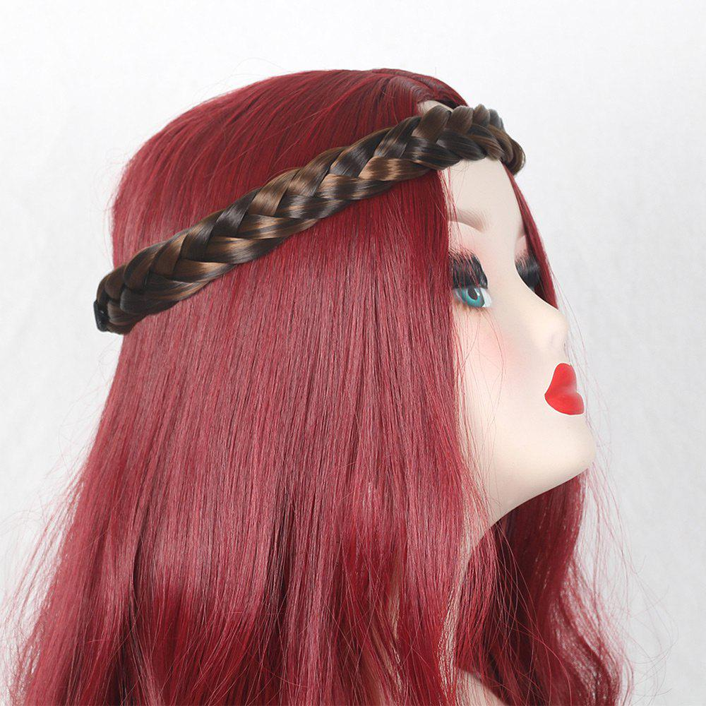 Braids Headband Hair Extension - BROWN