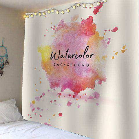 Watercolor Waterproof Wall Tapestry - COLORFUL W59 INCH * L59 INCH