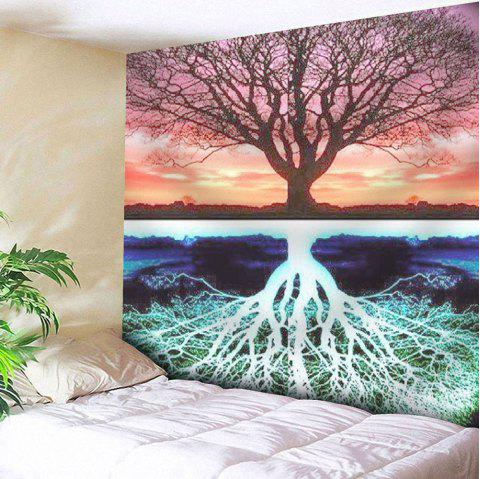 Tree Pattern Tapestry Microfiber Wall Hanging - COLORMIX W51 INCH * L59 INCH