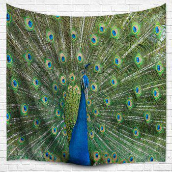 Peacock Wall Hanging Bedspread Blanket Throw Tapestry