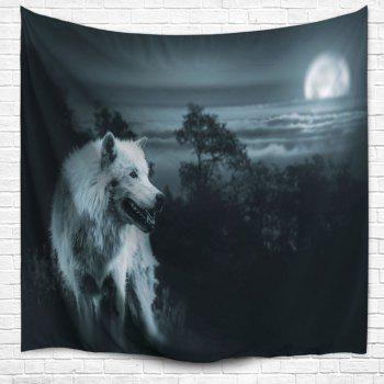 Wall Hanging Wild Wolf Tapestry Beach Blanket