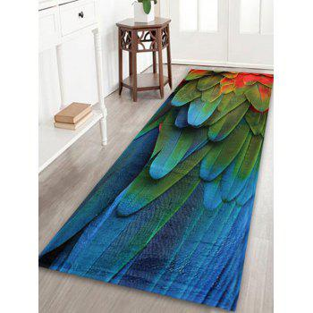 Feather Pattern Home Floor Extra Large Rug