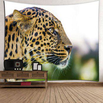 Leopard Pattern Wall Hanging Microfiber Home Tapestry - LEOPARD PRINT PATTERN LEOPARD PRINT PATTERN