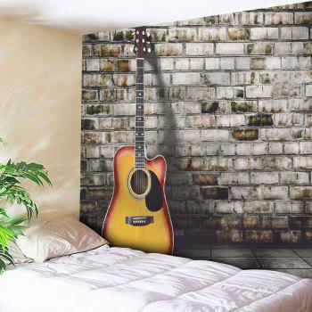 Guitar Wall Hanging Home Decor Microfiber Tapestry